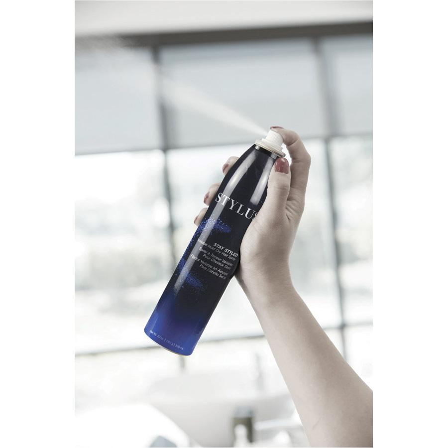 Stay Styled Variable Hold Dry Hair Spray - 2 oz - front view