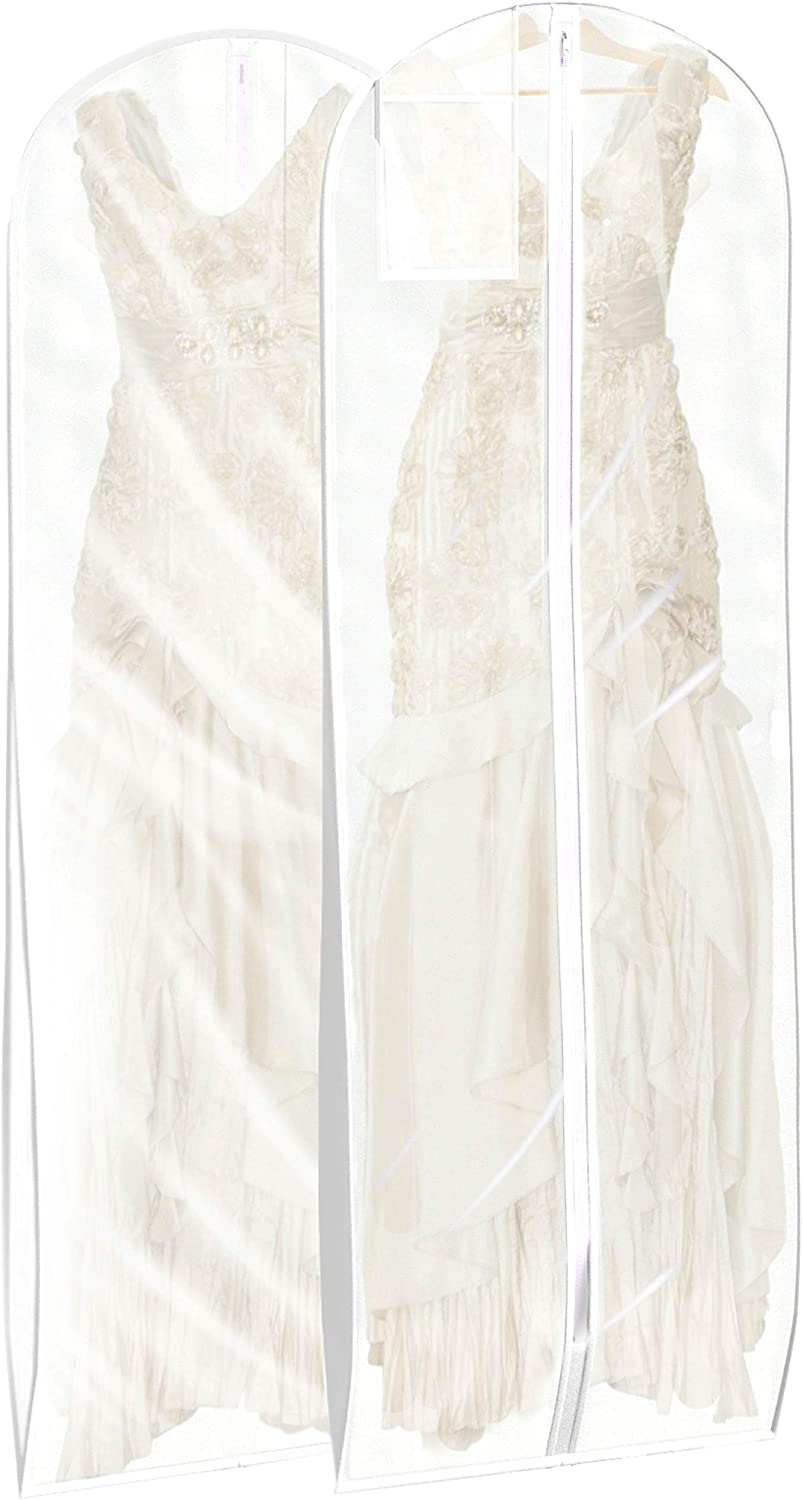 Wedding Dress Garment Bag Great Cover For Storage Or Travel Bridal Gown And Long Dresses