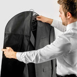 Bags for Less - Breathable Garment Bag Sturdy Suit Dress Cover for with with a Transparent Clear Panel for Easy Viewing - Bags for less us