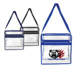 Clear Crossbody Stadium Messenger Tote (T20009)