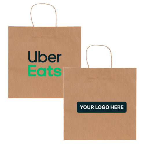 Co-Branded Paper Bistro Take-out Bags (Case of 250)