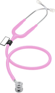 MDF® NEO™ Infant and Neonatal Deluxe Lightweight Dual Head Stethoscope (MDF787XP) - Rosa