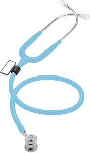 MDF® NEO™ Infant and Neonatal Deluxe Lightweight Dual Head Stethoscope (MDF787XP) - Pastellblau