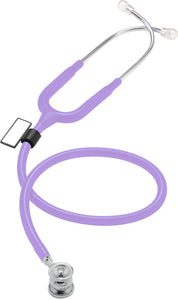 MDF® NEO™ Infant and Neonatal Deluxe Lightweight Dual Head Stethoscope (MDF787XP) - Pastellviolett