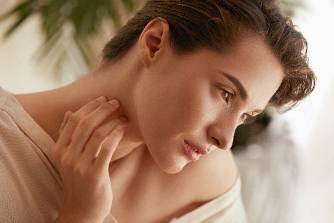 relax with face oils and gua sha facial
