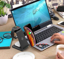 Load image into Gallery viewer, 3 in 1 Wireless Charger