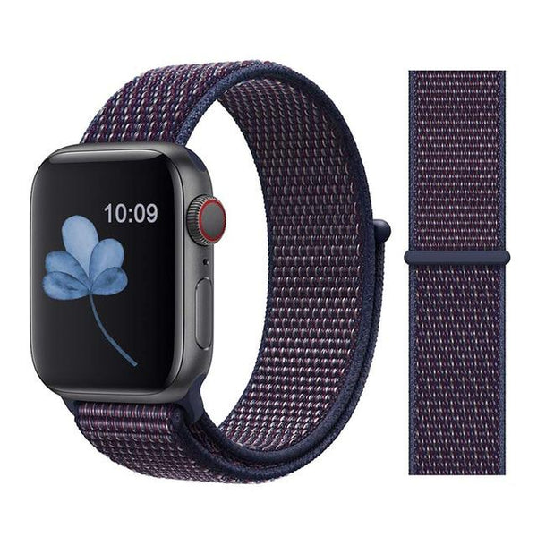 Nylon Sport Loop for Apple Watch – Indigo