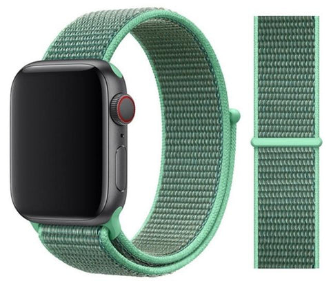 Nylon Sport Loop for Apple Watch – Spearmint Green
