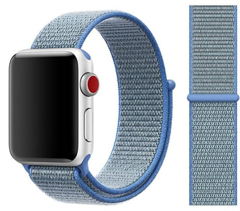 Nylon Sport Loop for Apple Watch – Thaoe Blue