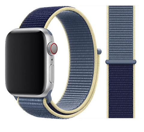 Nylon Sport Loop for Apple Watch – Alaskan Blue