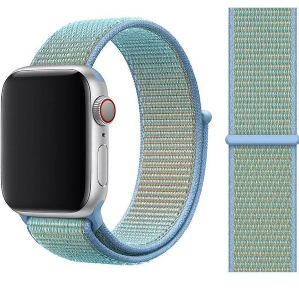 Nylon Sport Loop for Apple Watch – Cornflower