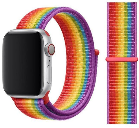 Nylon Sport Loop for Apple Watch – Pride Edition