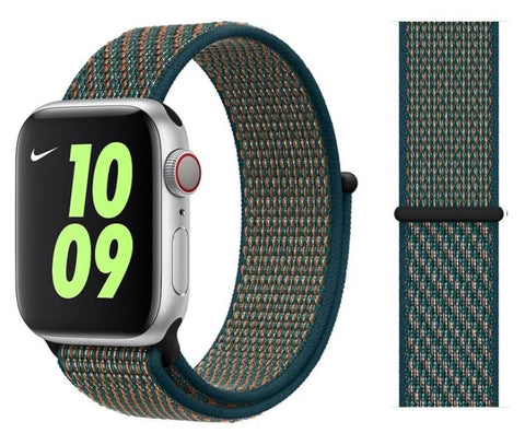 Nylon Sport Loop for Apple Watch – Hyper Crimson