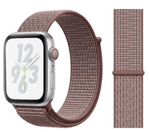 Nylon Sport Loop for Apple Watch – Smokey Mauve