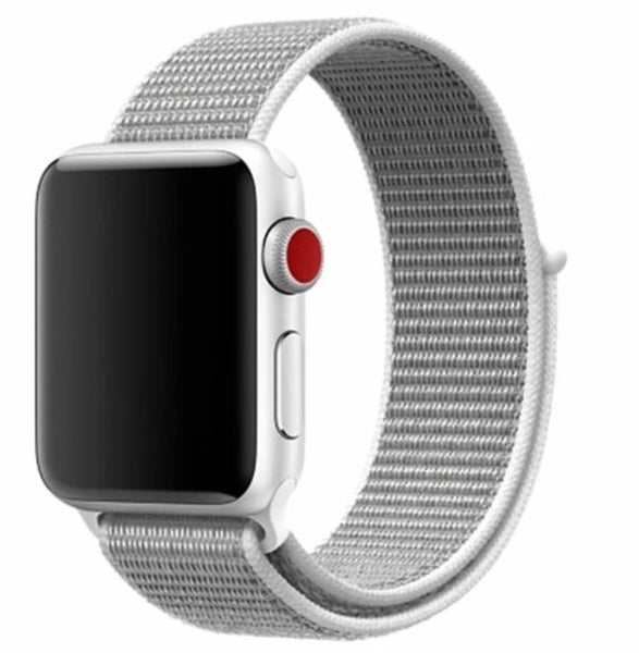 Nylon Sport Loop for Apple Watch – Pearl