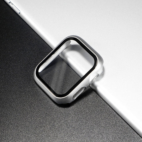 Glass Apple Watch Screen Protector - Bright Silver