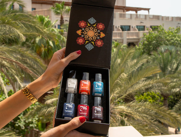 6 Piece Nail Polish Gift Set (Choose Your Own Colors)