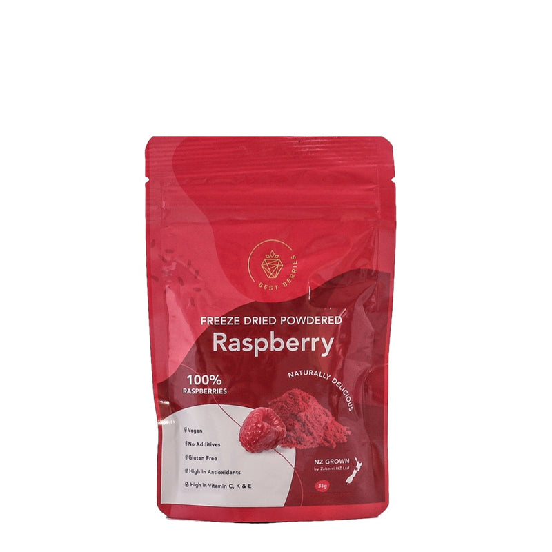 Best Berries Freeze Dried Raspberry powder 35gm
