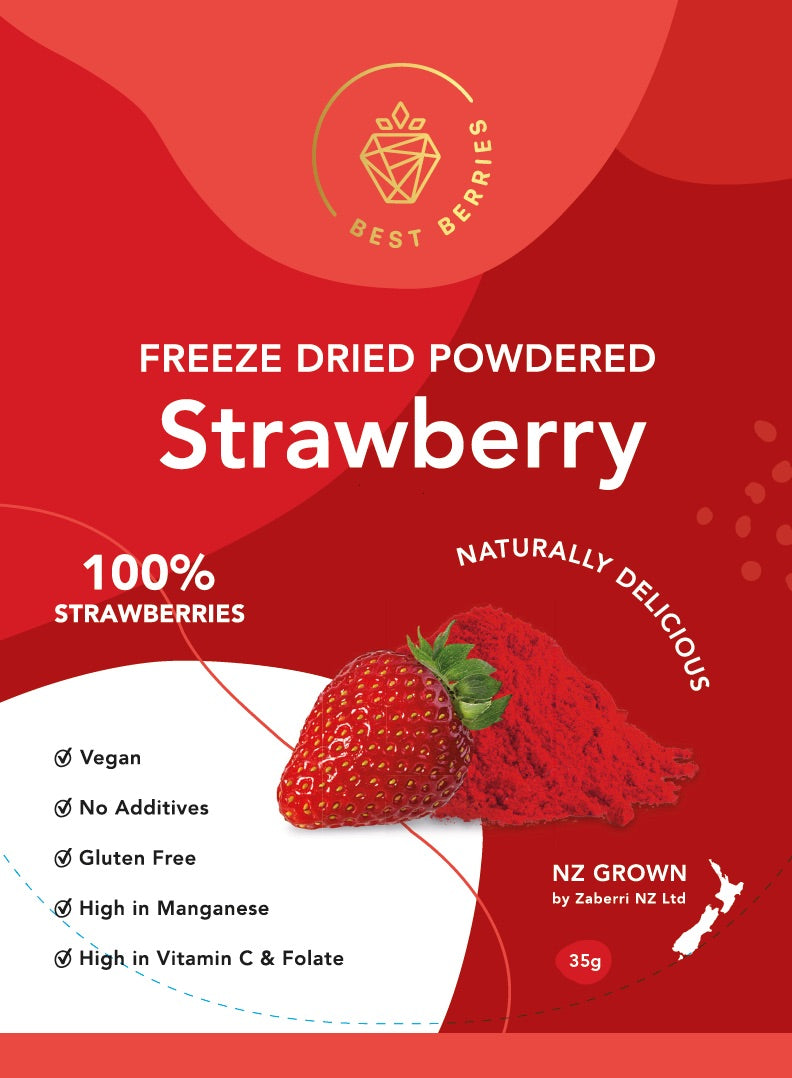 Best Berries Freeze Dried Strawberry powder 35gm