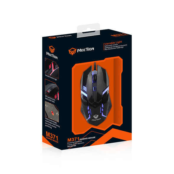 Mouse Gamer M371 - nikgamers