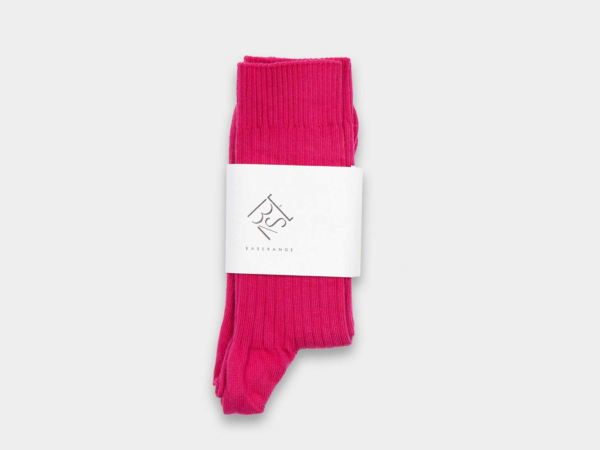 BASERANGE RIB ANKLE SOCKS [CALICO]