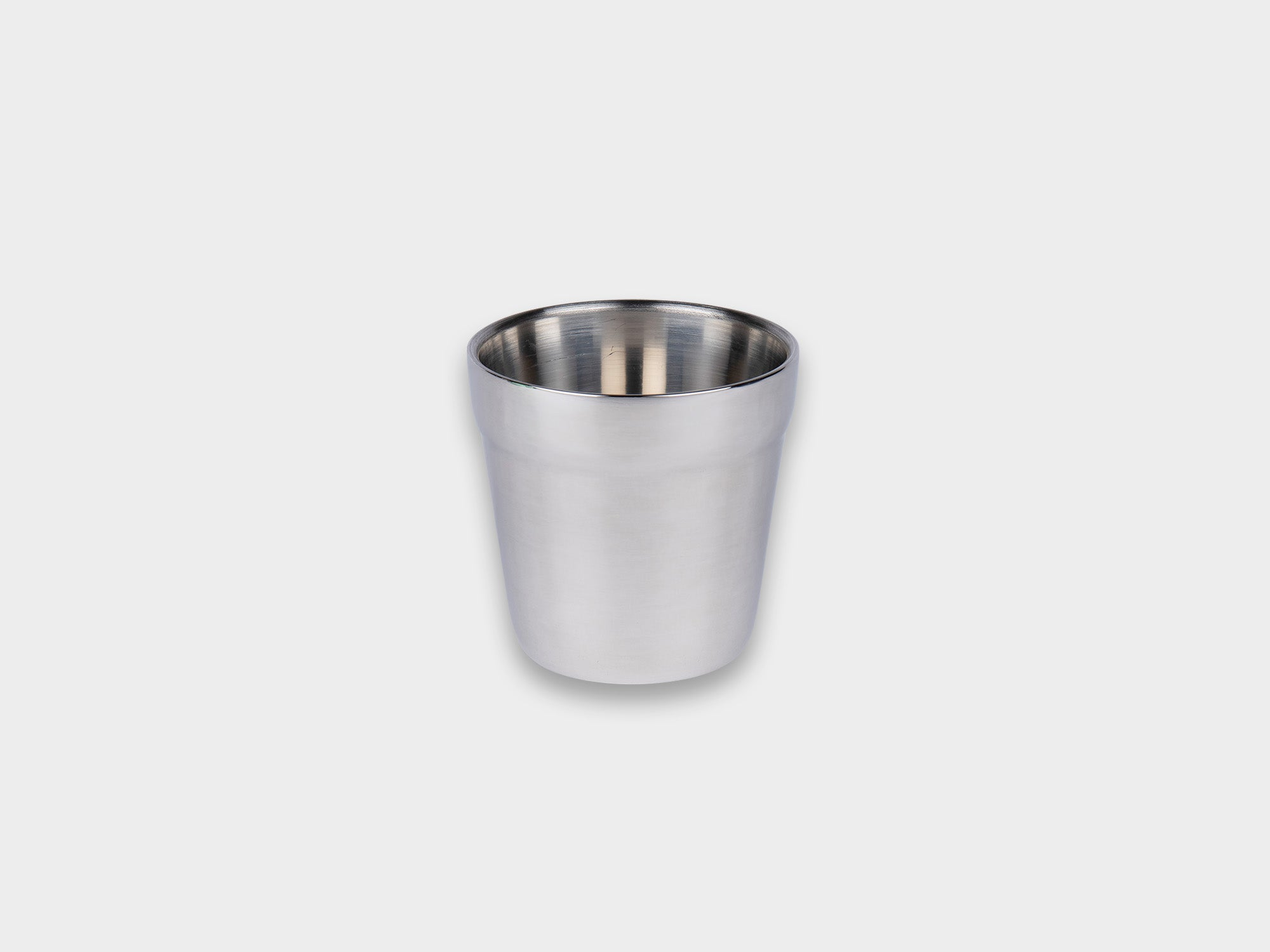 KM STAINLESS RIPPLE TOP CUP