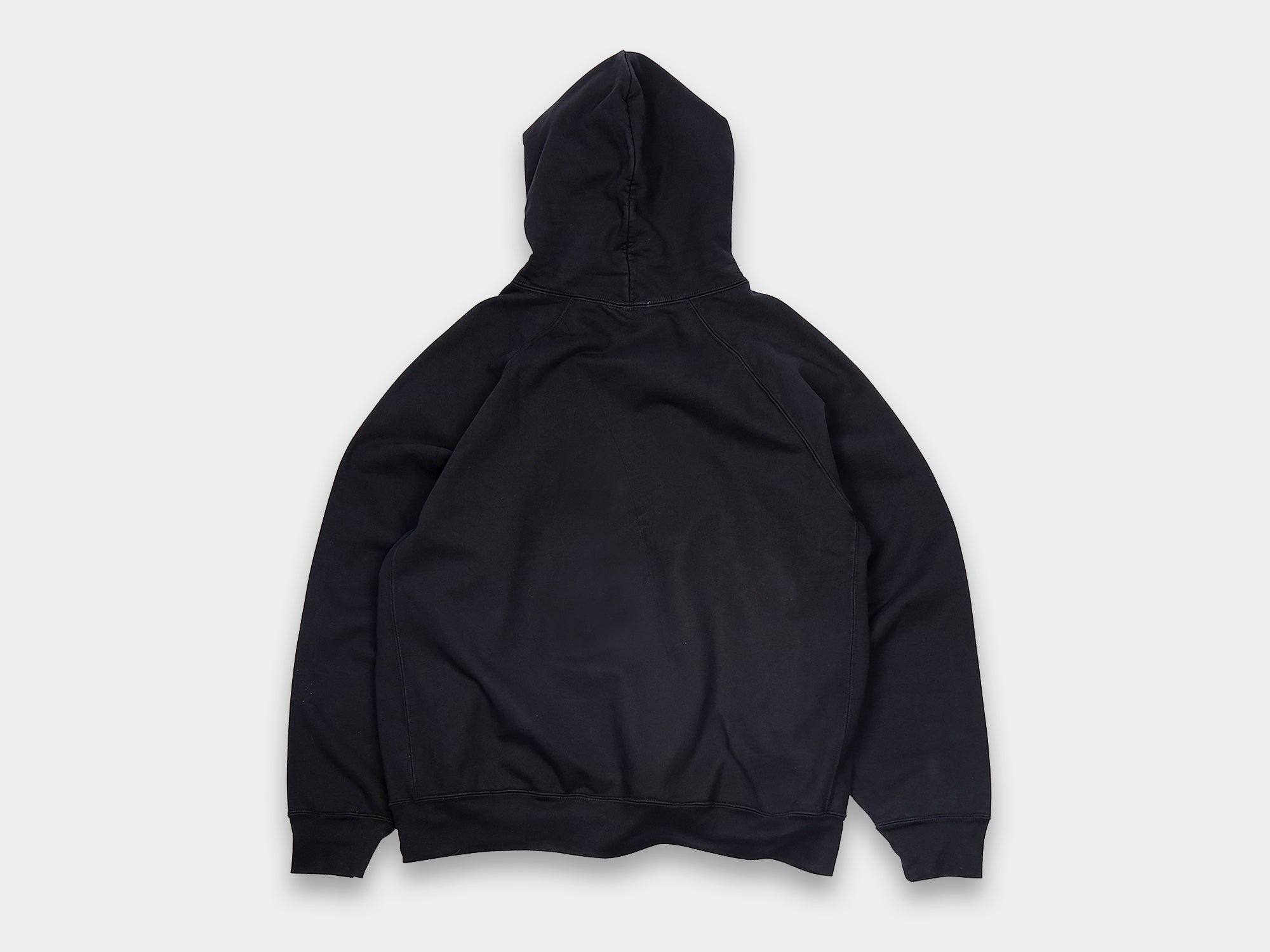 LADY WHITE CO. SUPER WEIGHTED HOODIE [BLACK]