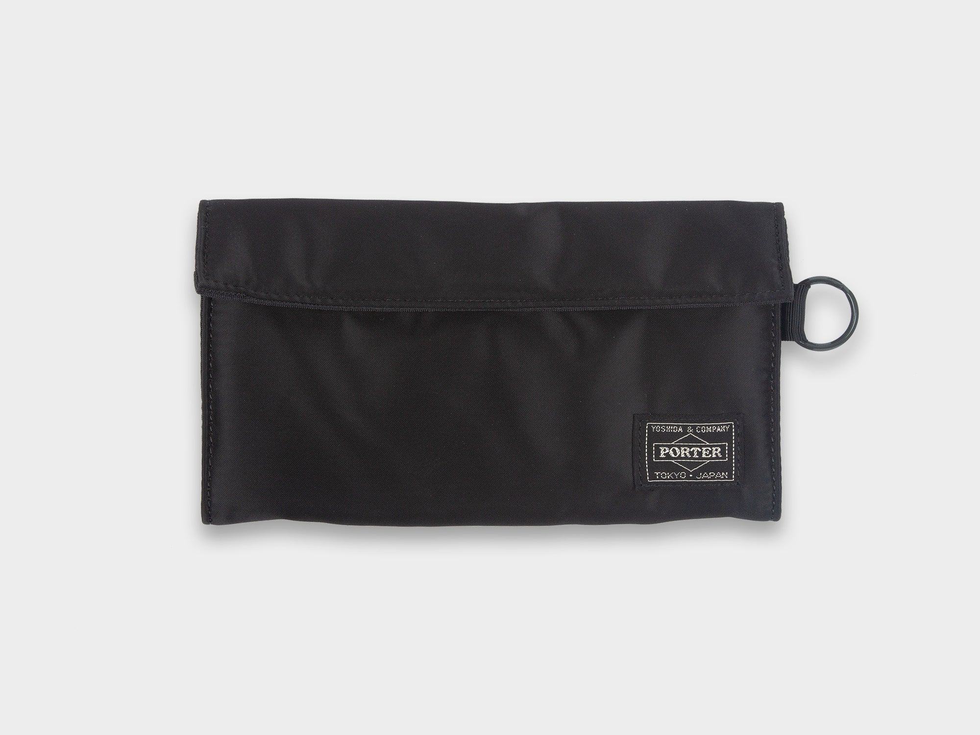 PORTER TANKER WALLET LONG [BLACK]