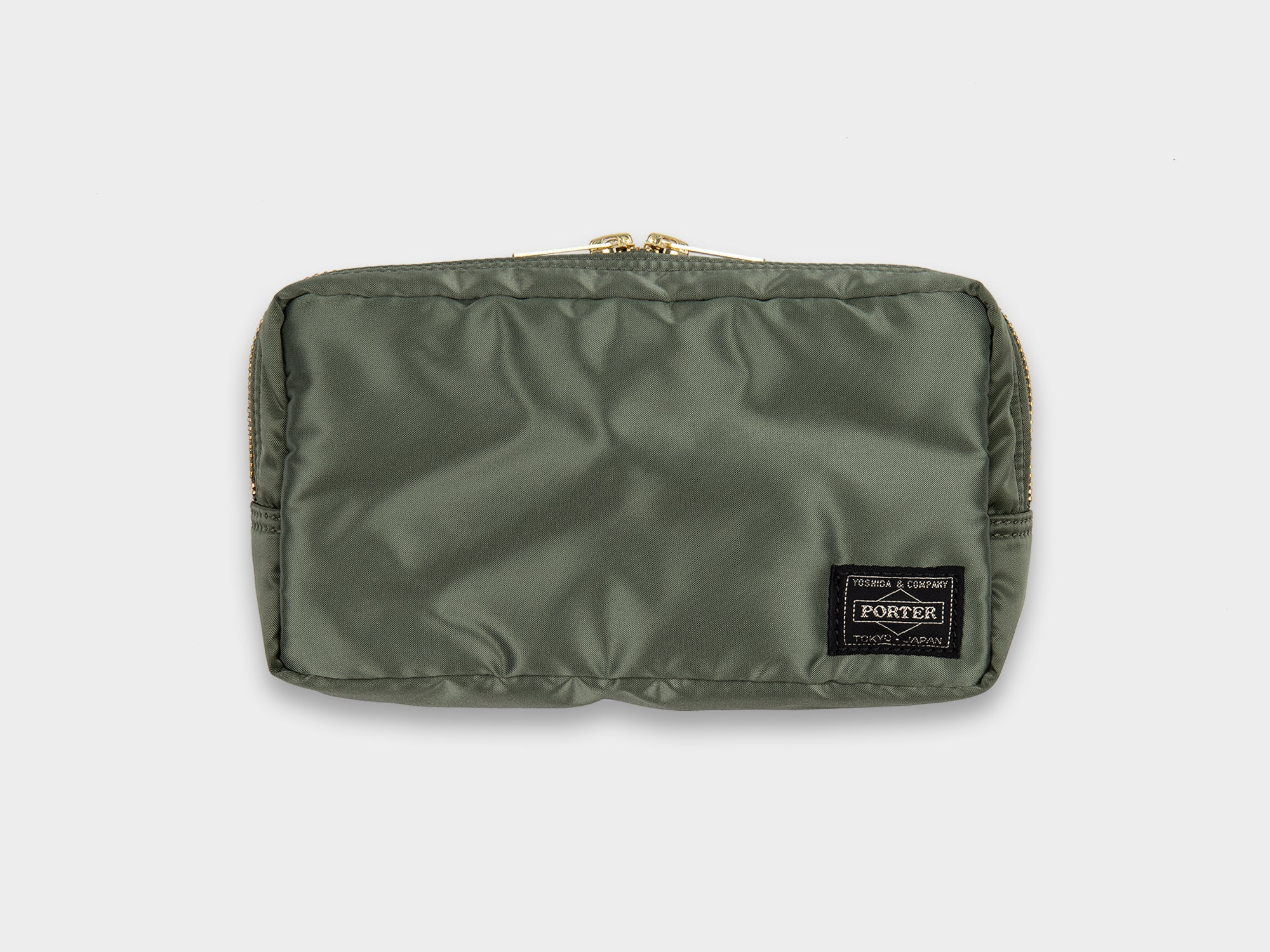 PORTER TANKER POUCH [SAGE]