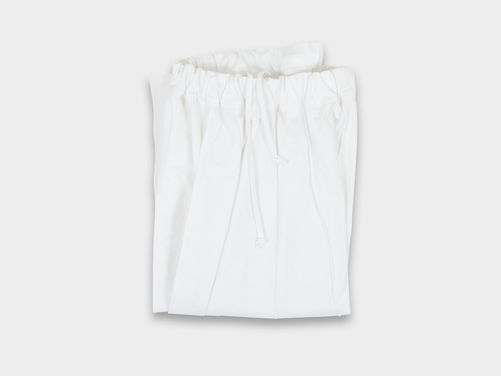 W-R6P8 [SKIRT] WHITE [WASH]