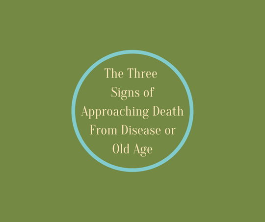 Hospice Innovator Barbara Karnes, RN explains the 3 Signs of Approaching Death from Disease or Old Age