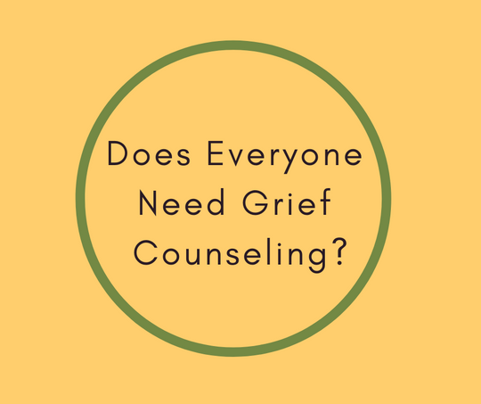 Does Everyone Need Grief Counseling? article by End of Life Expert, Barbara Karnes, RN