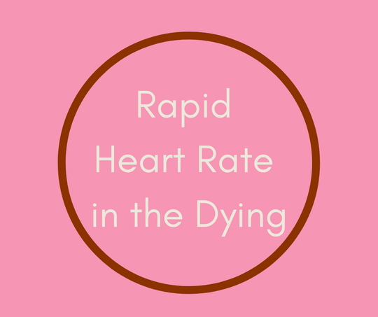 Rapid Heart Rate in the Dying