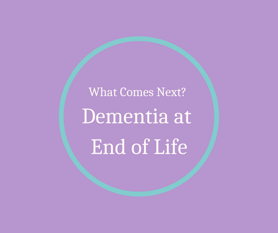 What Comes Next? Dementia at End of Life is an article written by Hospice Pioneer, Barbara Karnes, RN.  She talks about the progression of dementia and ideas for caregivers.