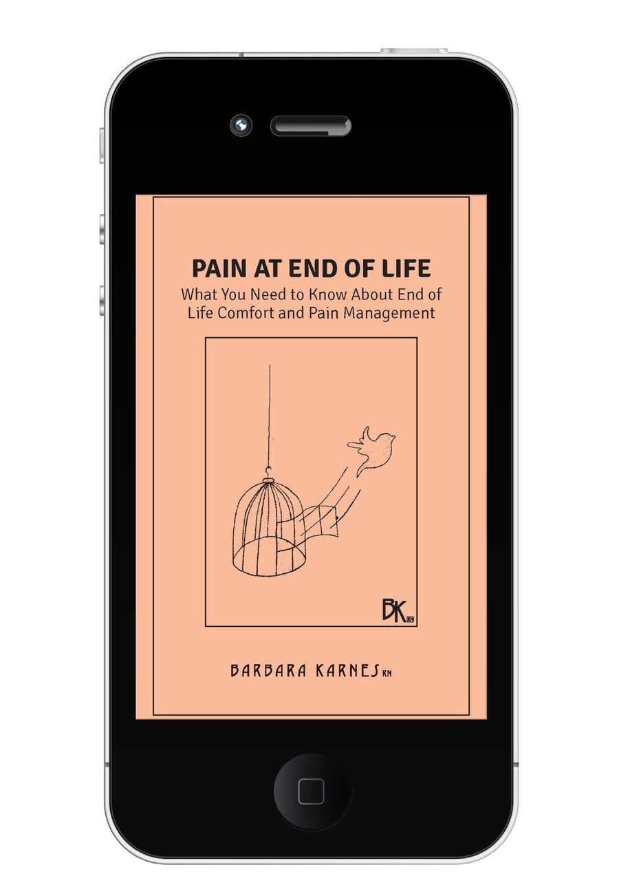 EBook - Pain At End Of Life: What You Need To Know About End Of Life Comfort And Pain Management EBook