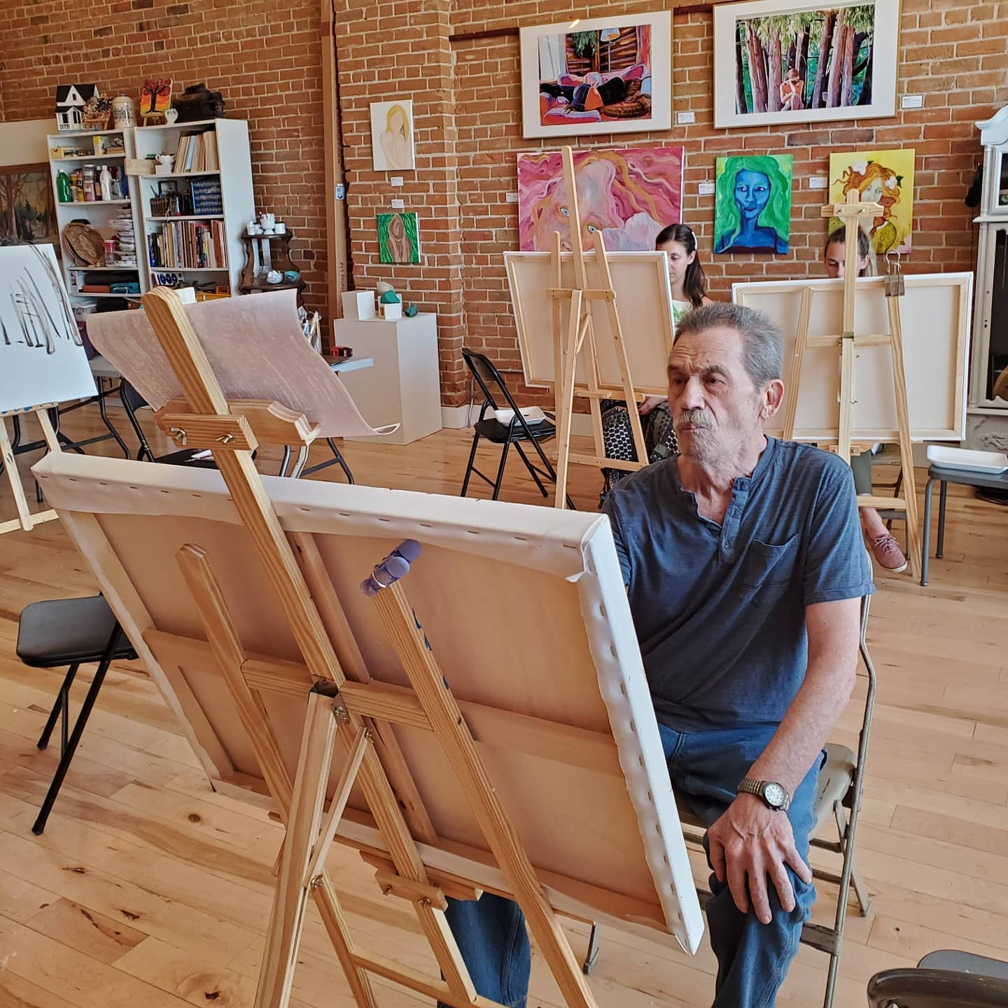 Advanced Oil Painting (Portrait class) with John Pagé