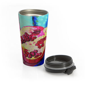 "Stainless Steel Travel Mug: ""Everyday Jewels"""