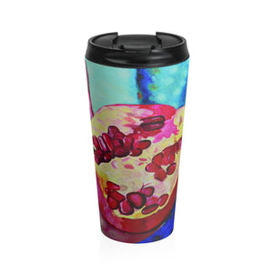 "Open image in slideshow, Stainless Steel Travel Mug: ""Everyday Jewels"""