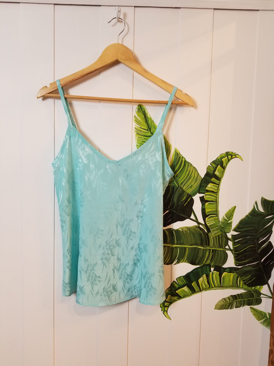 SUMMERLOVIN' RETRO CAMI | Sky Blue Satin (Size 2) or Dusty Pink Satin (Size 6)