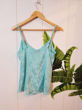 Load image into Gallery viewer, SUMMERLOVIN' RETRO CAMI | Sky Blue Satin (Size 2) or Dusty Pink Satin (Size 6)