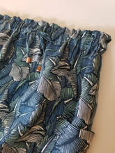 Load image into Gallery viewer, Midi Freedom Skirt in 100% 'Botanical Leaf' Linen