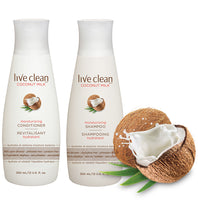 Live Clean Coconut Milk Moisturising Conditioner 350ml