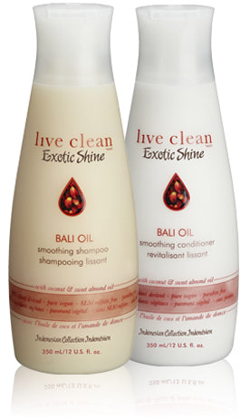 Live Clean exotic shine - bali oil restorative conditioner 350ml