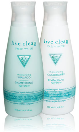 live Clean Fresh Water Hydrating Shampoo 350ml