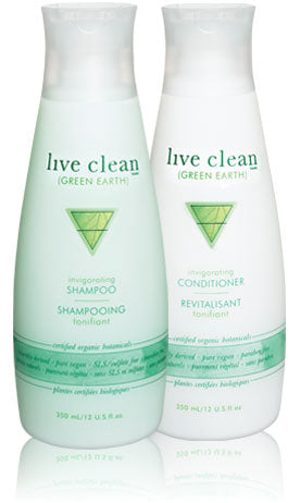 Live Clean green earth - invigorating conditioner 350ml