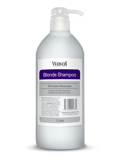 Wavol Blonde Shampoo Conditioner 1L