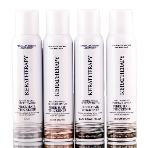 KERATHERAPY Perfect match fiber hair thickener