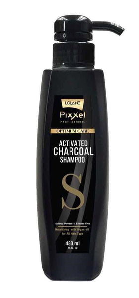 Lolane Activated Bamboo Charcoal Shampoo 480ml