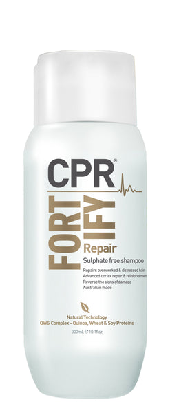 CPR Fortify Repair Sulphate Free Shampoo 300mL