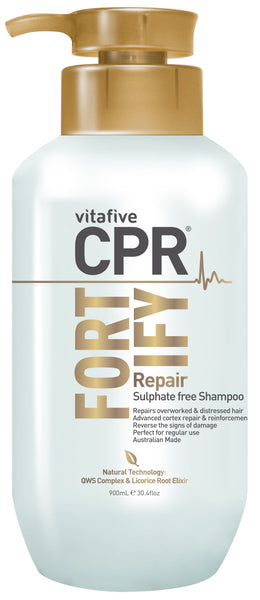 CPR Fortify Repair Sulphate Free Shampoo 900mL